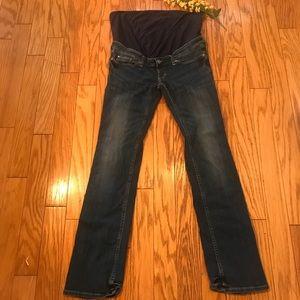 H&M Maternity Straight Leg Jeans